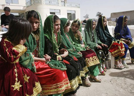 afghancloth - Traditional Wedding Facts