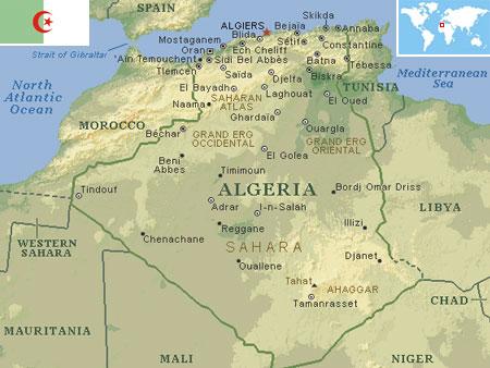 Algeria world atlas find fun facts algeria gumiabroncs Image collections