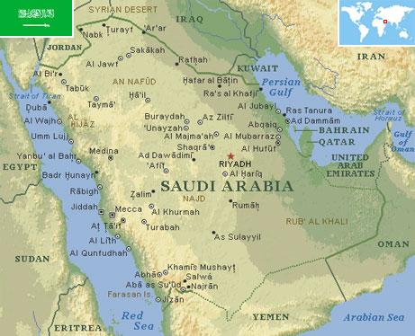 Saudi arabia world atlas find fun facts saudi arabia gumiabroncs Images