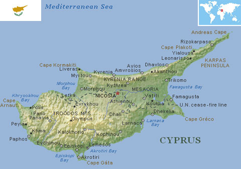 Cyprus world atlas find fun facts cyprus gumiabroncs Image collections