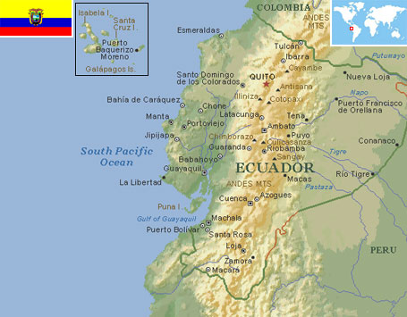 Ecuador world atlas find fun facts ecuador gumiabroncs Choice Image