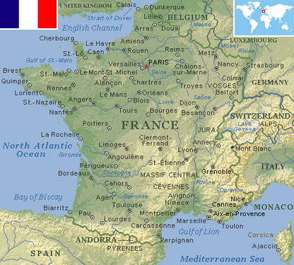 France world atlas find fun facts france gumiabroncs Choice Image