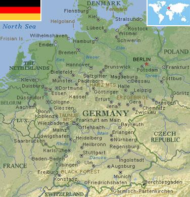 North European Plain Germany - World Atlas ...