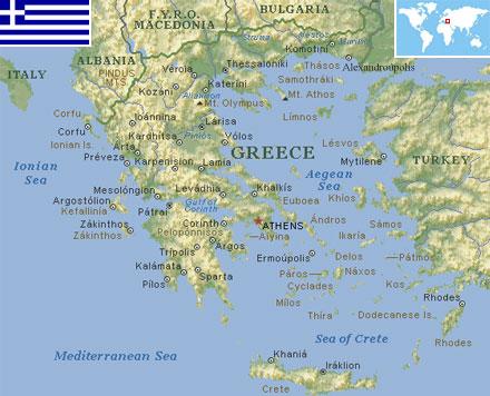 World Population By Race >> Greece - World Atlas - Find Fun Facts