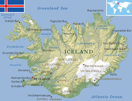 Iceland world atlas find fun facts iceland gumiabroncs Choice Image