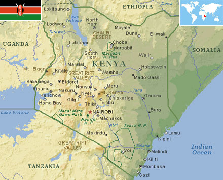 Kenya world atlas find fun facts kenya gumiabroncs Choice Image
