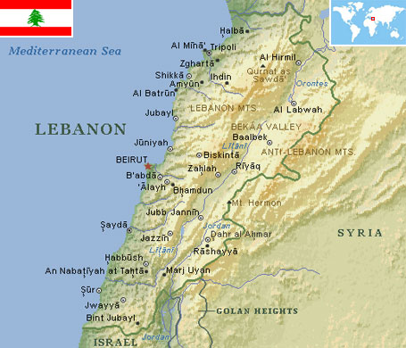 Lebanon world atlas find fun facts lebanon gumiabroncs Images