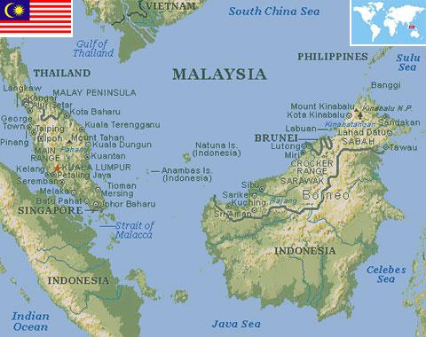 Malaysia world atlas find fun facts country statistics malaysia gumiabroncs Choice Image