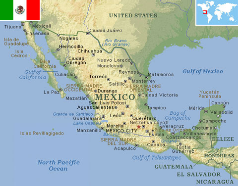 Mexico world atlas find fun facts mexico gumiabroncs Choice Image