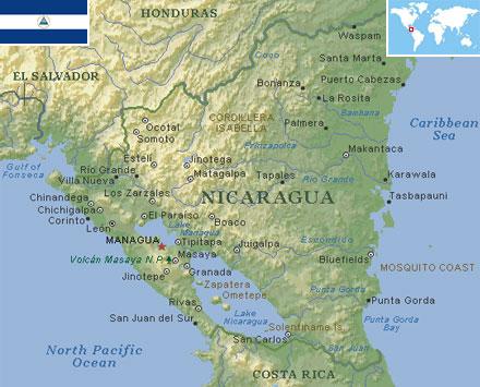 Nicaragua world atlas find fun facts nicaragua gumiabroncs Gallery