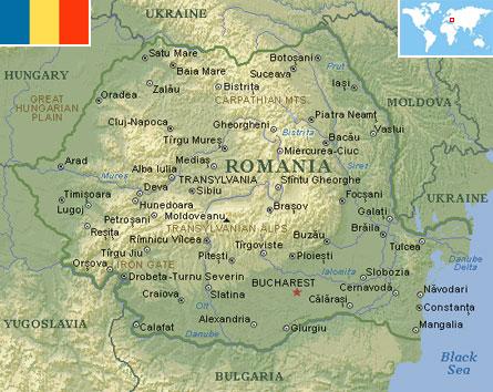 Romania world atlas find fun facts romania gumiabroncs Choice Image