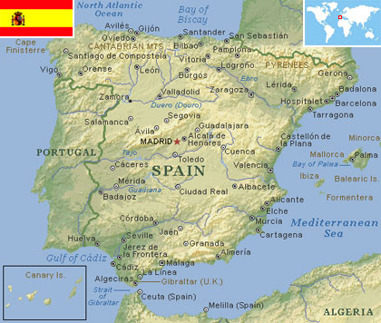 Spain world atlas find fun facts spain gumiabroncs Gallery