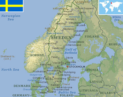 Sweden world atlas find fun facts sweden gumiabroncs Choice Image