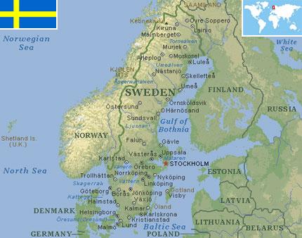 Sweden world atlas find fun facts sweden gumiabroncs Images
