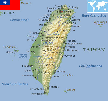 Taiwan world atlas find fun facts taiwan gumiabroncs Images