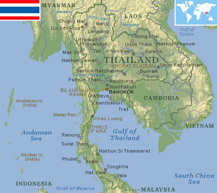 Thailand world atlas find fun facts thailand gumiabroncs Image collections