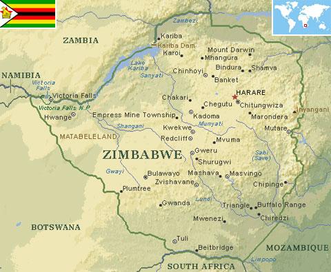Zimbabwe world atlas find fun facts zimbabwe gumiabroncs Choice Image