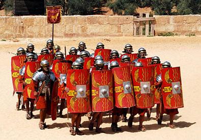 roman army tortoise formation